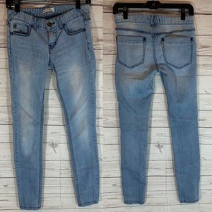 FP free people size 27 light wash jeans